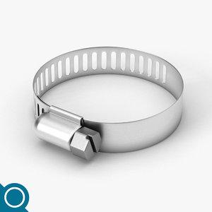 3D collar clamp