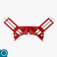 3D corner clamp model