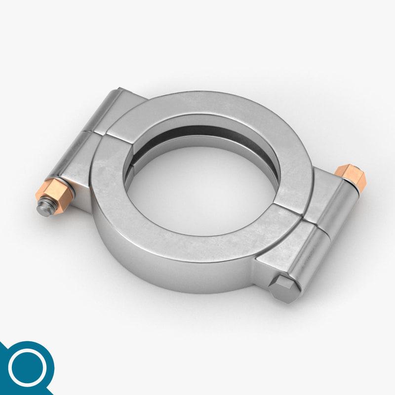 3D o clamp