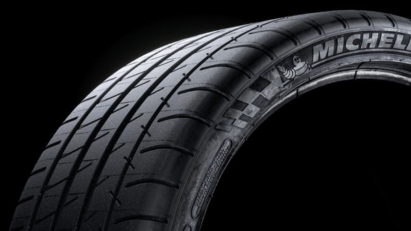 3D model michelin sidewalls