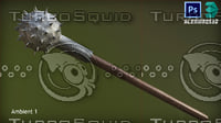 Morning Star Medieval Weapon