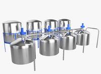 3D oil tank