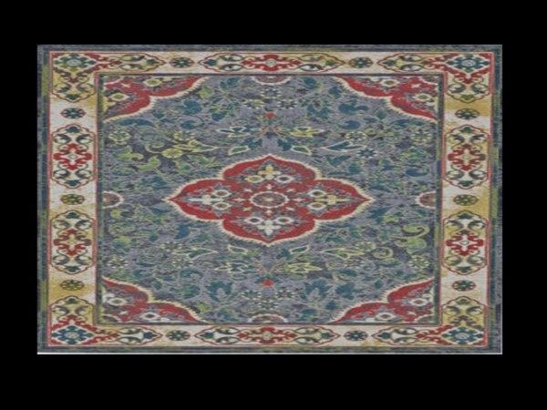floor rug 3D model