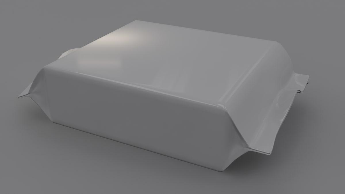 box packaging 3D model