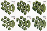 hedge 3D