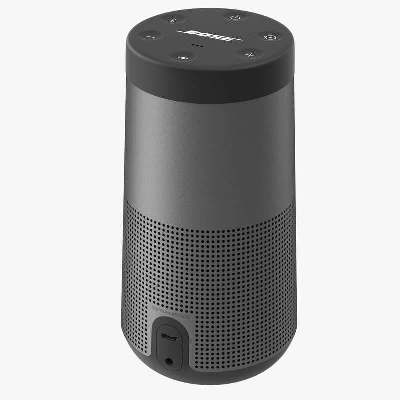 3D sound speaker model