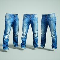 jeans trousers 3D model