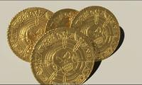 3D ancient gold