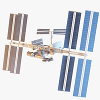 International Space Station With RIG