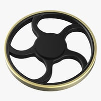 hand spinner wheel wagon 3D
