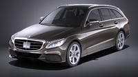 Mercedes Benz C Class W205 2017 estate VRAY