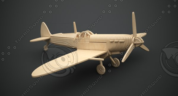3D p301 spitfire