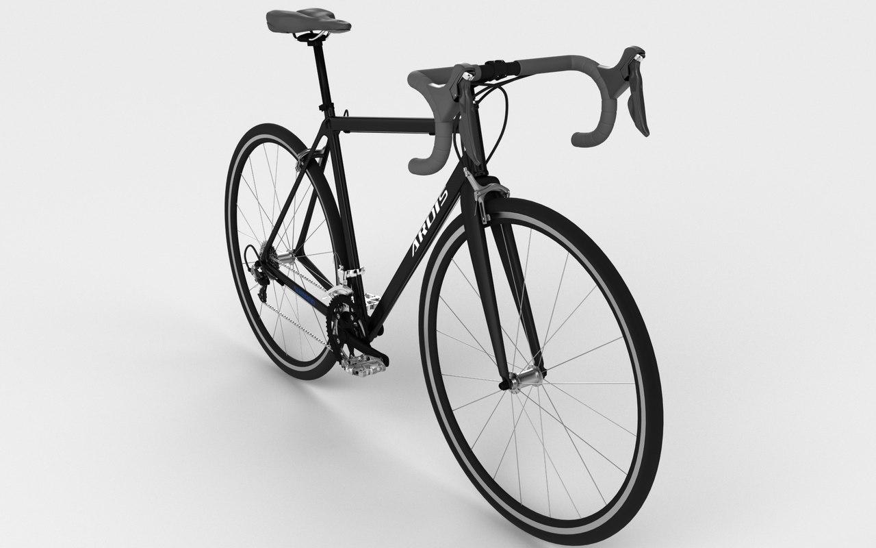 road ardis bike 3D model