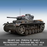 iii - ausf j model