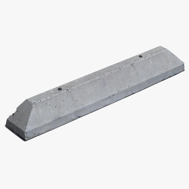 retopologized concrete 3D