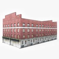 ready industrial building 3D model