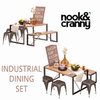 3D nook cranny industrial model