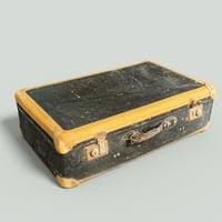 Vintage Suitcase Retro Valise 3