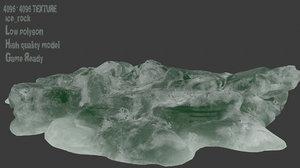 3D model ice snow