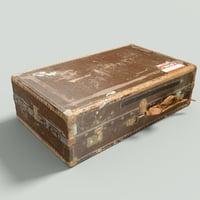 Vintage Suitcase Retro Valise 7