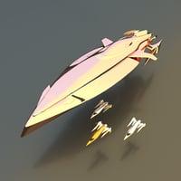 nubian yacht model
