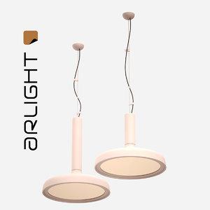 arlight droop midi 3D model