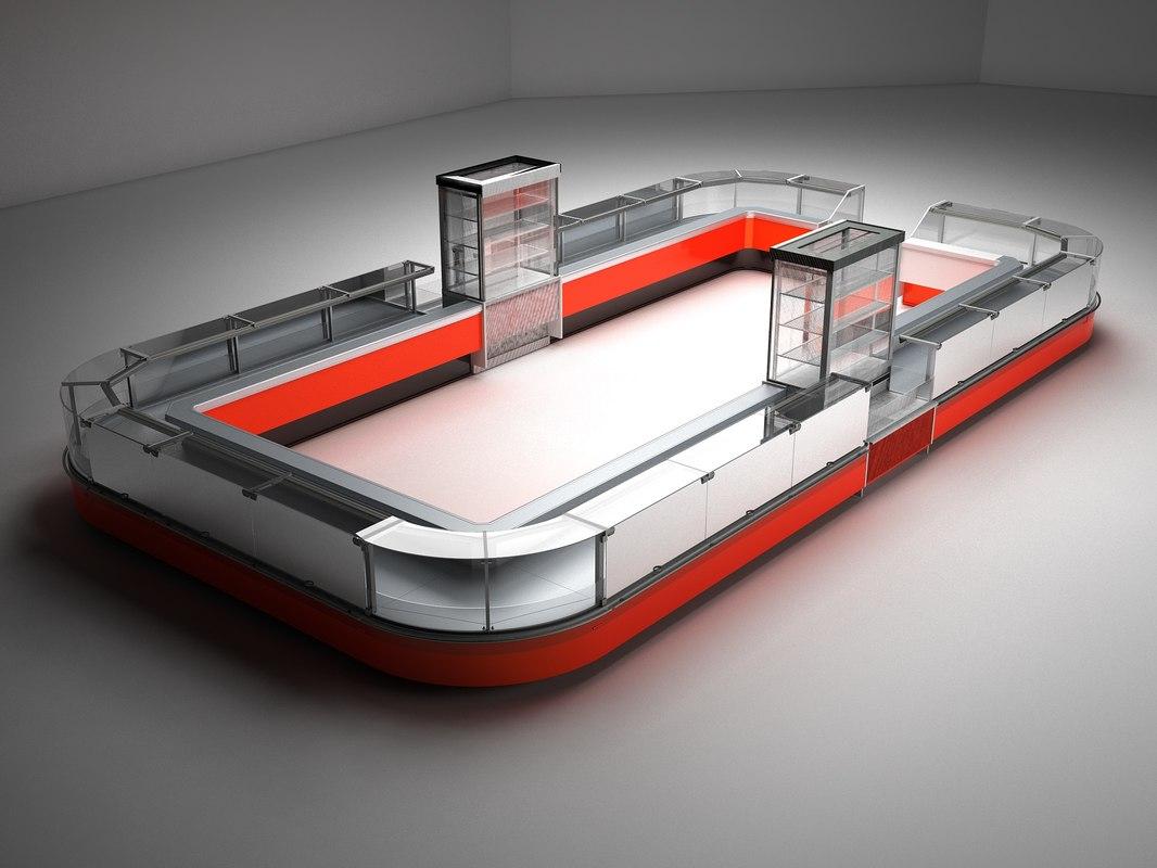 refregirator arneg 3D model