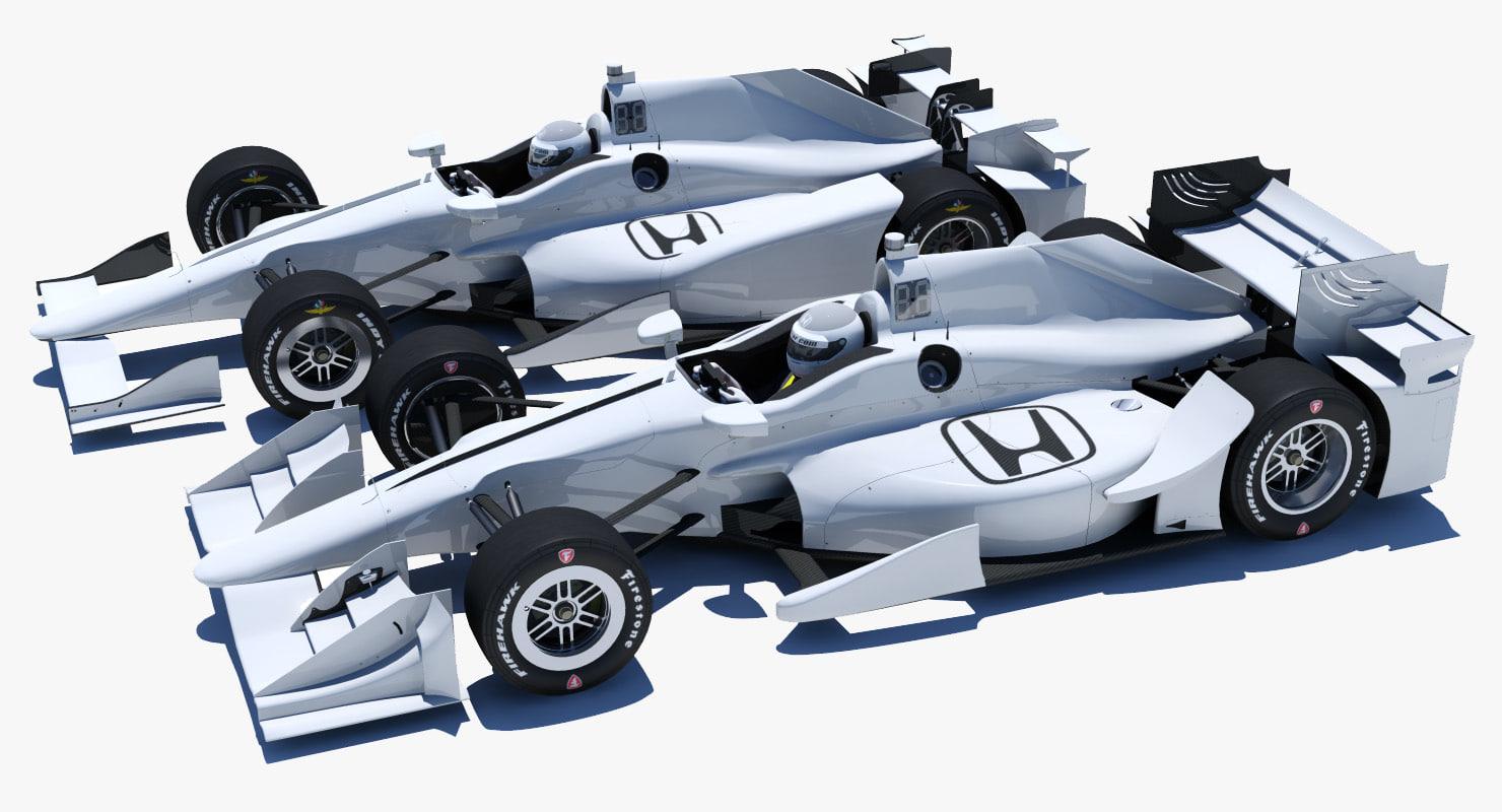 3D honda cars model