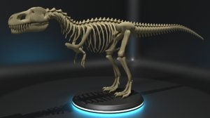 tyrannosaurus skeleton - model