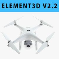 E3D - DJI Phantom 4 PRO
