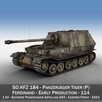 3D - tiger p ferdinand