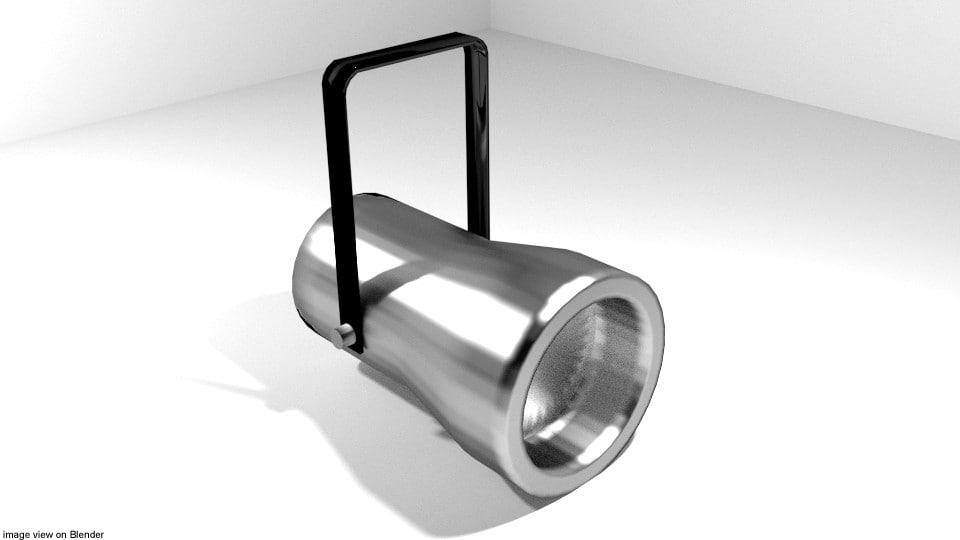 3D 2 light studio model