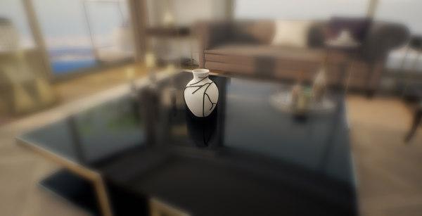 3D model vase unreal