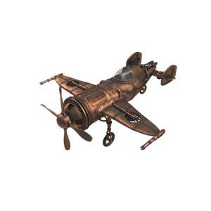 3D steampunk propellers