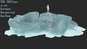 3D ice snow