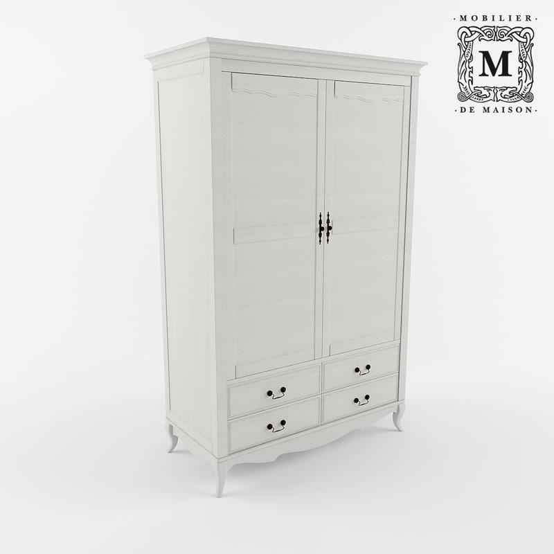 3D cupboard belveder b-st9327kr-2