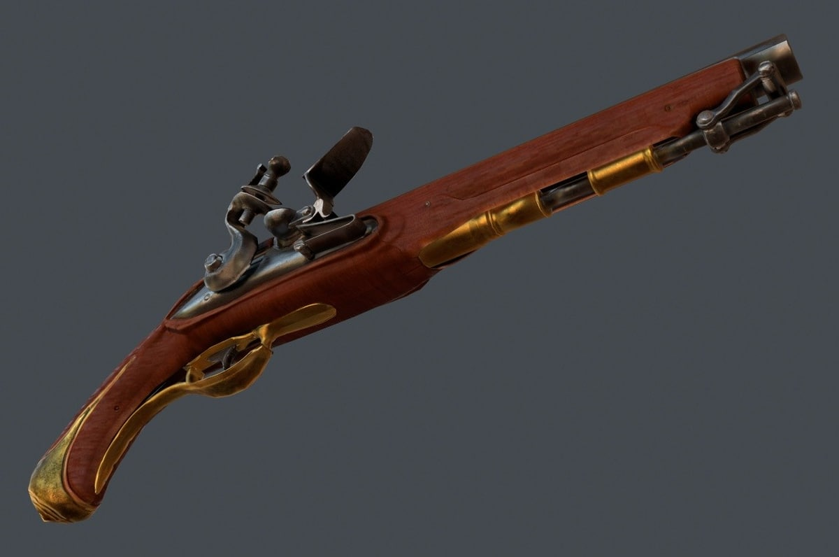 Old Musket Pistol