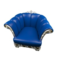 classic luxury chair 3D model