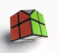 3D cube puzzle rare
