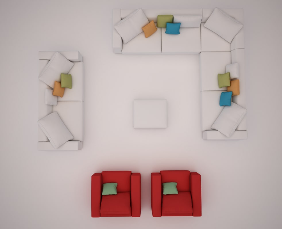 seating group 3D
