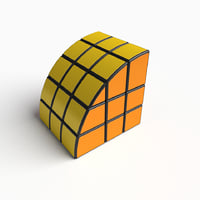 3D rare cube puzzle toy