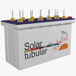 tubular battery model