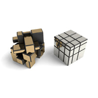 rare cube puzzle toy 3D model