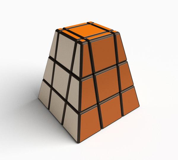 3D model original cube puzzle toy