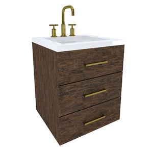 cabinet vanity 3D model