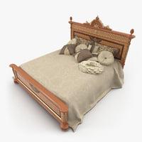 Bed 1550 Riva Mobili d'Arte