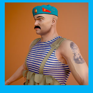 soldier ussr model