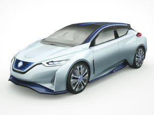 nissan ids leaf 3D model