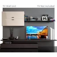 tv wall unit 3 3D