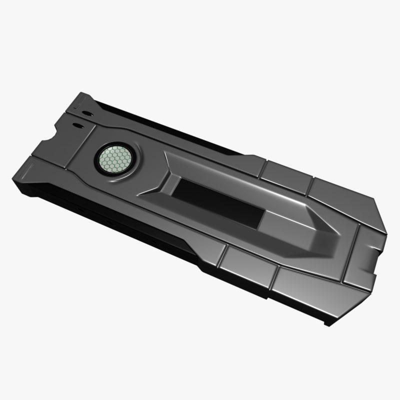 device pbr 3D model